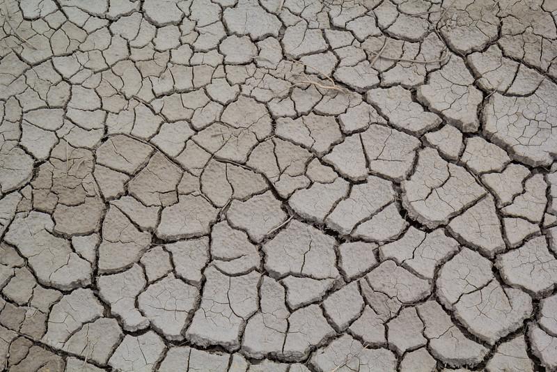 Dry lake bottom