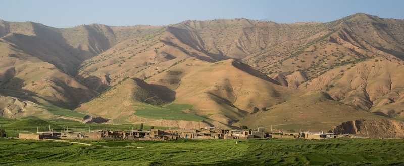 Mountain village in the East Bazoft Valley