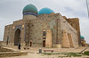 Mausoleum of Khoja Ahmed Yasawi.                        More culture-pics at TRIPS / KAZAKHSTAN