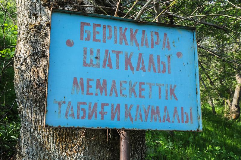 Berkara Valley, 65km NE of Taraz, loc M