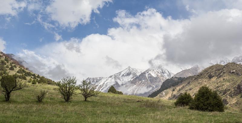 Gamskii Khrebiet (Alatau) mountains
