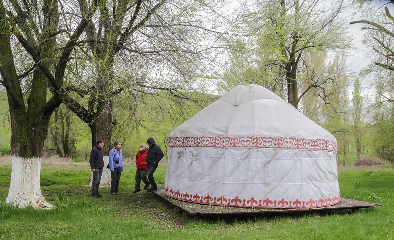 yurt near Kordoi Pass