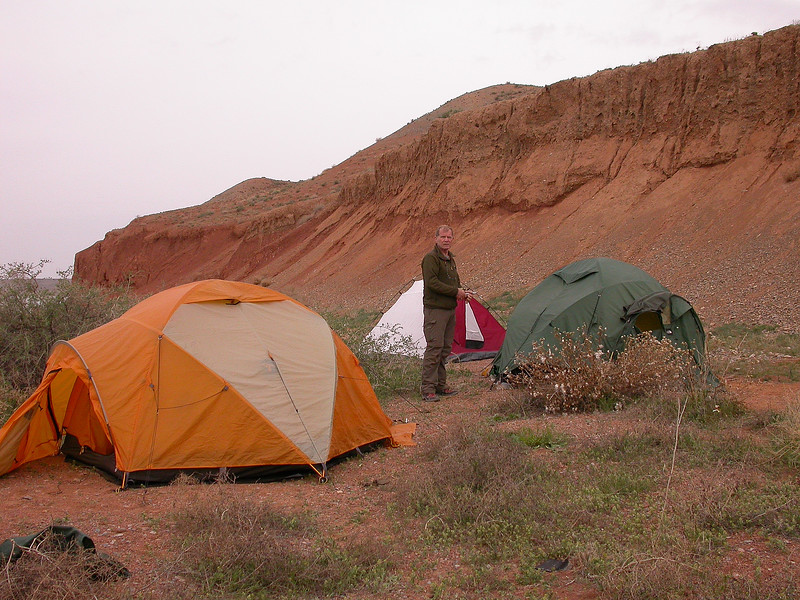 campsite Lake Kyzylkol 331m