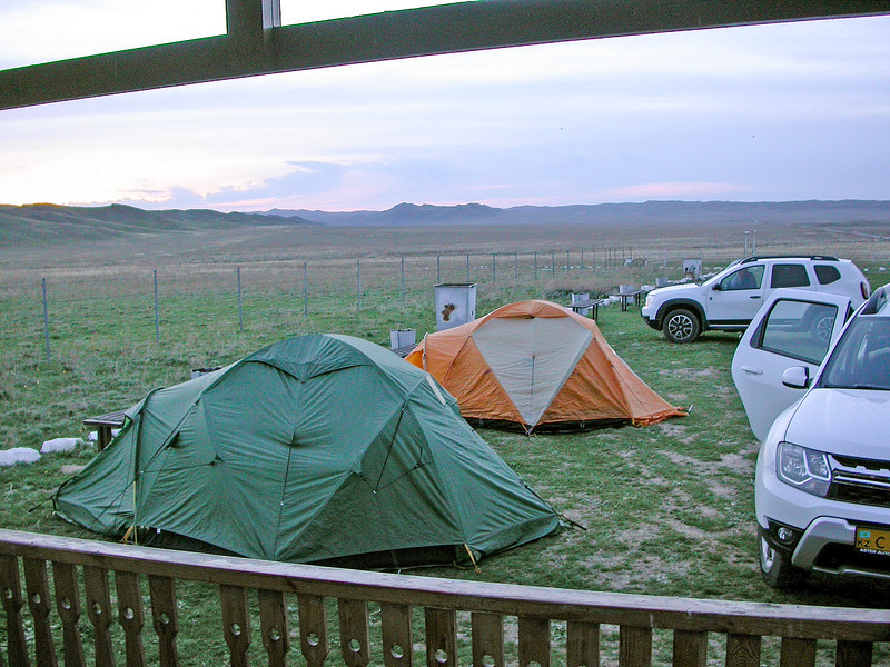 Campground, April, 17-18th