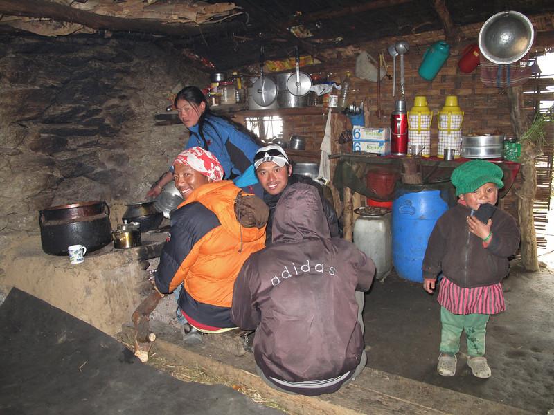 Sherpa  kitchen