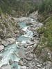 Imja Drangka river, Monjo 2900m-Namche Bazaar-Tengboche-Deboche 3630m