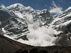 Avalanche on the Mera Peak 6476m