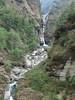 Hinku Khola river