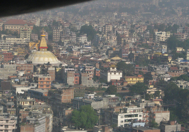 Kathmandu, Nepal, flight: Lukla-Kathmandu