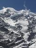 Avalanche on the Mera Peak, Tangnag 4300m-Khare 4950m