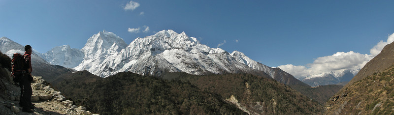 Deboche 3630m-Pangboche-Chhukung 4780m