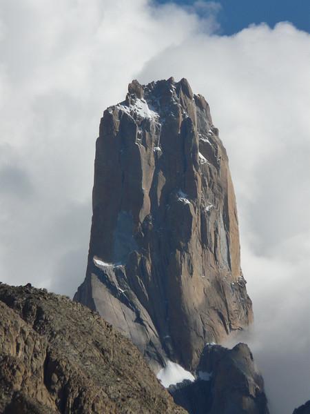 """the monolite """"Nameless Tower"""" 6239 m"""
