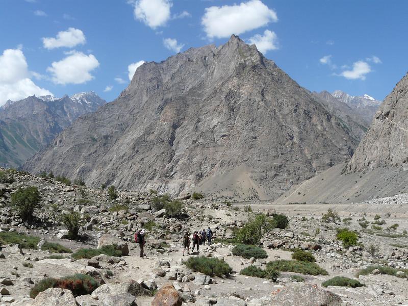 route Shaicho 3300m. -  Hushe 3050m
