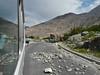 road blockade near Gilgit (political tensions)