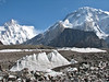 look at K2  8611m and Broad Peak 8060m
