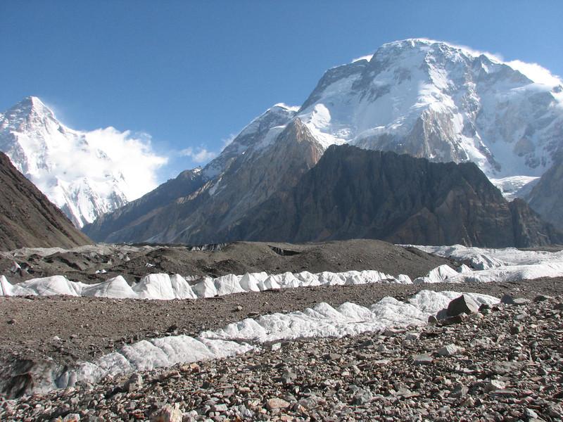 K2  8611m and Broad Peak 8060m