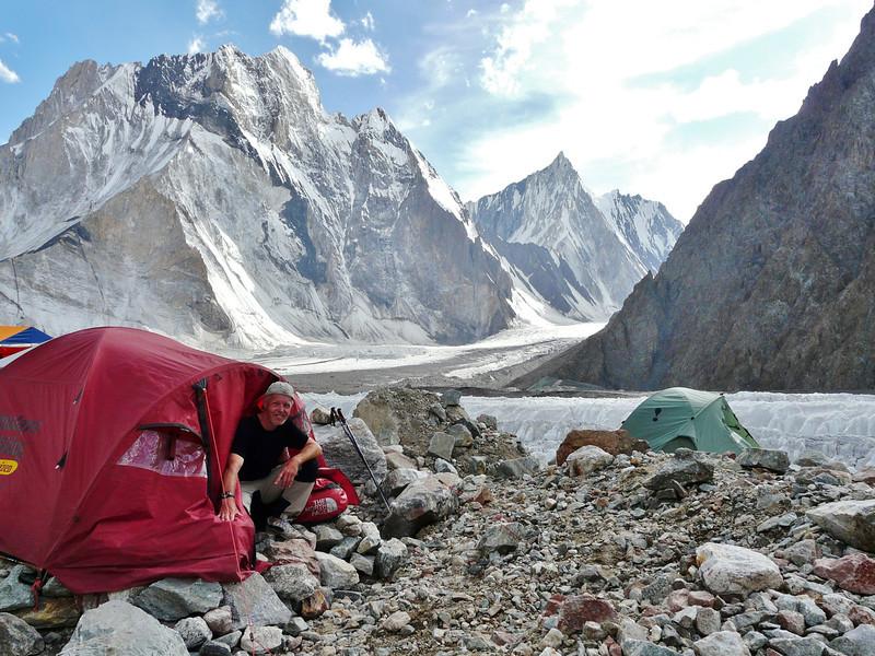 Broad Peak base camp 4700m