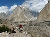 Baltoro Glacier and the Trango Towers Massive