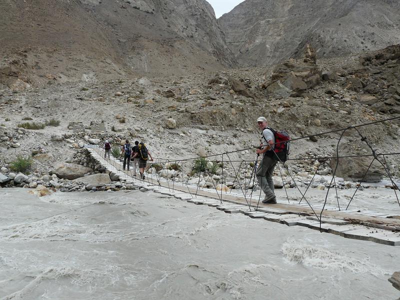 Dumordo river, Askole 3000m.- Jula 3140m. Baltistan