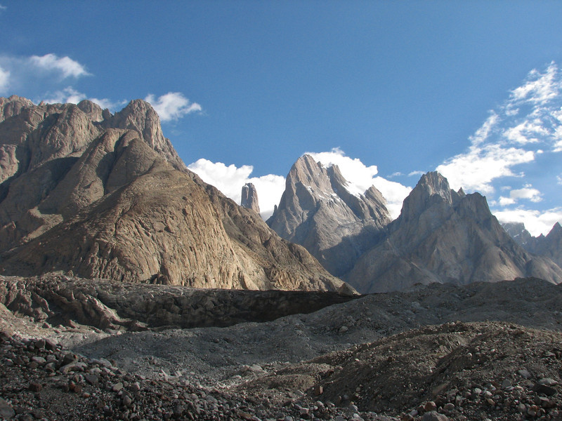Trango Towers and Cathedral