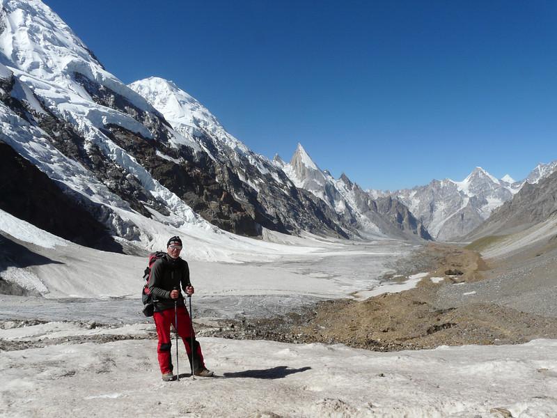 Gondoghoro glacier