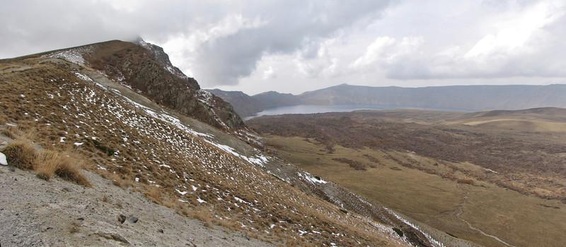 Volcano: Nemrut Kalderasi National Monument with Nemrut Gölü, North of Bitlis