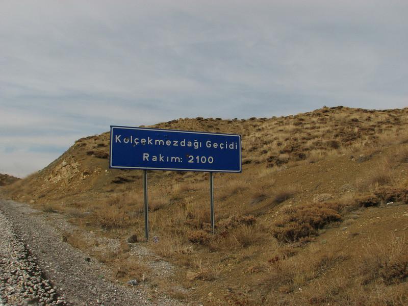 Kolcekmezdagi Gecidi 2100m,  Erzincan-Cayirli-Tercan