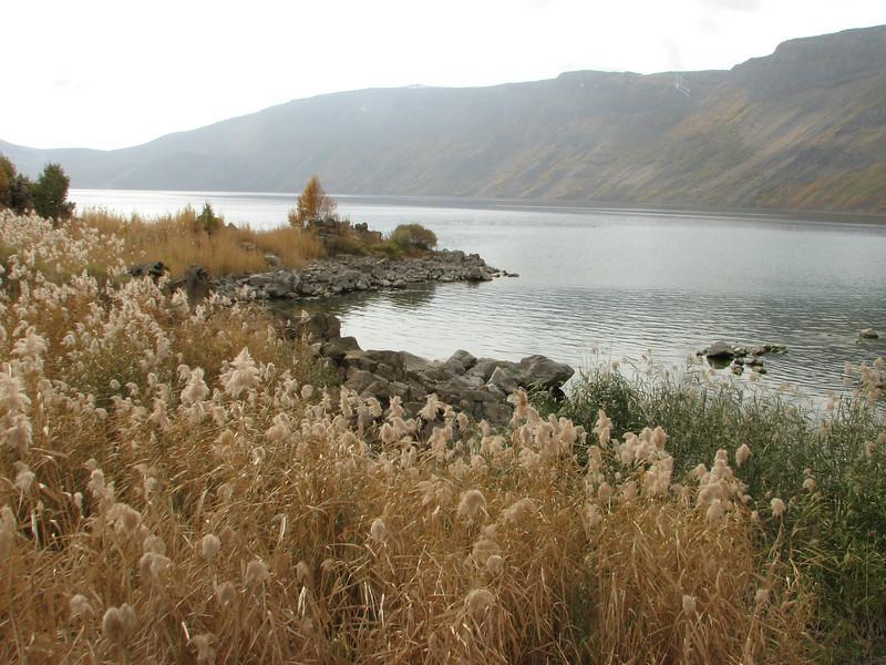 Nemrut Gölü, volcano: Nemrut Kalderasi National Monument with Nemrut Gölü, North of Bitlis