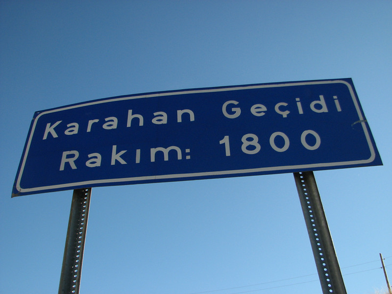 Karahan Gecidi 1800m (Malatya-Darende)