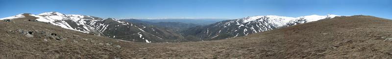 Panorama Palendoken mountains