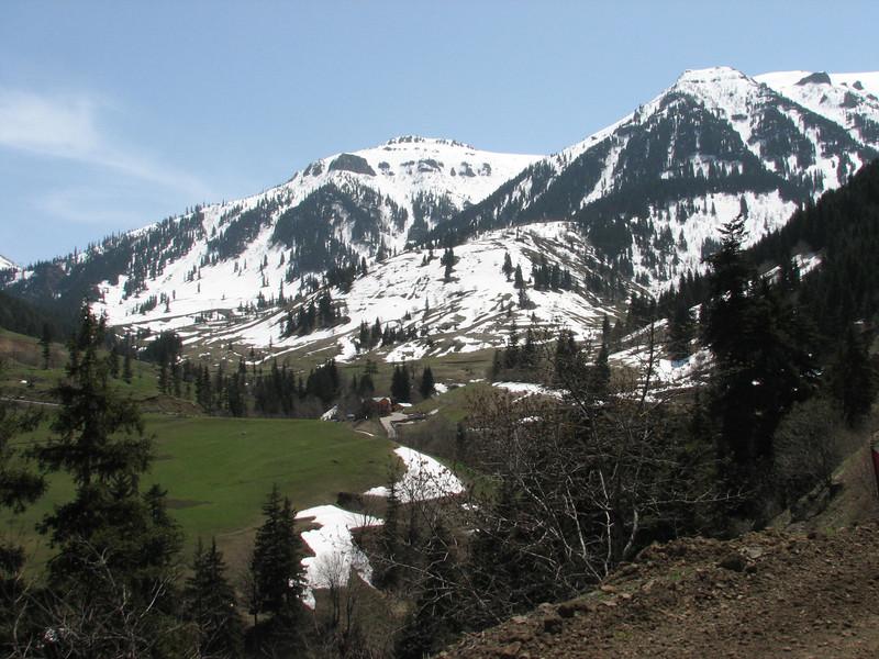 Pontic Alps near Artvin