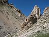 Limestone rocks, Bahitli Dag 2030m habitat of Saxifraga kotschyi,