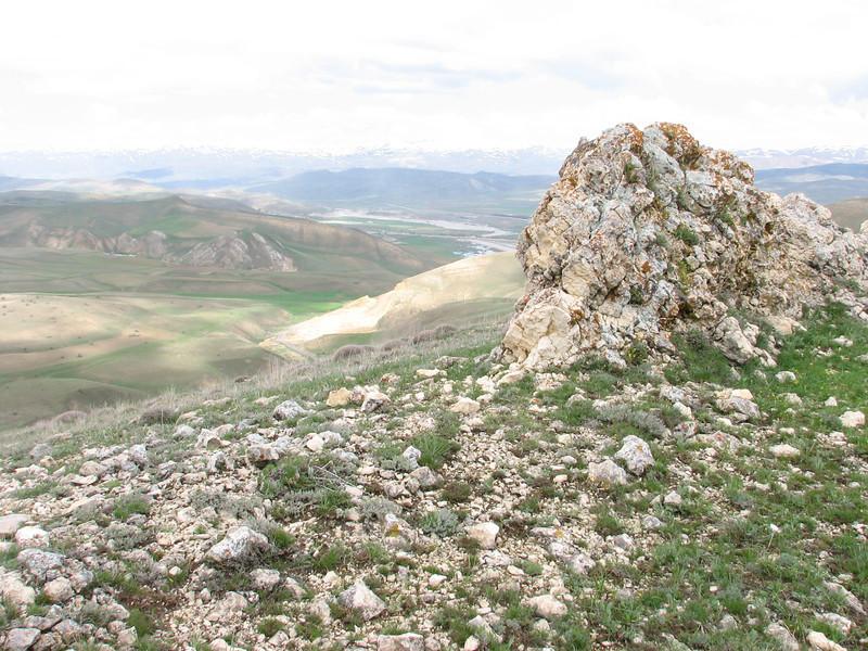 Limestone rocks in the Palandoken near Erzurum