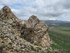 Limestone rocks in the Palendoken mountains