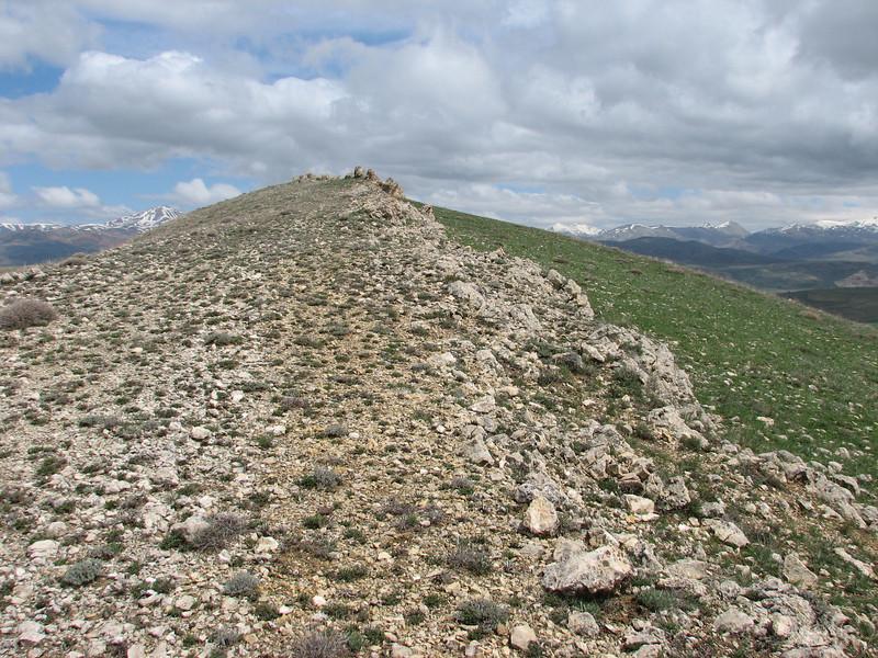 Limestone rocks in the Palandoken