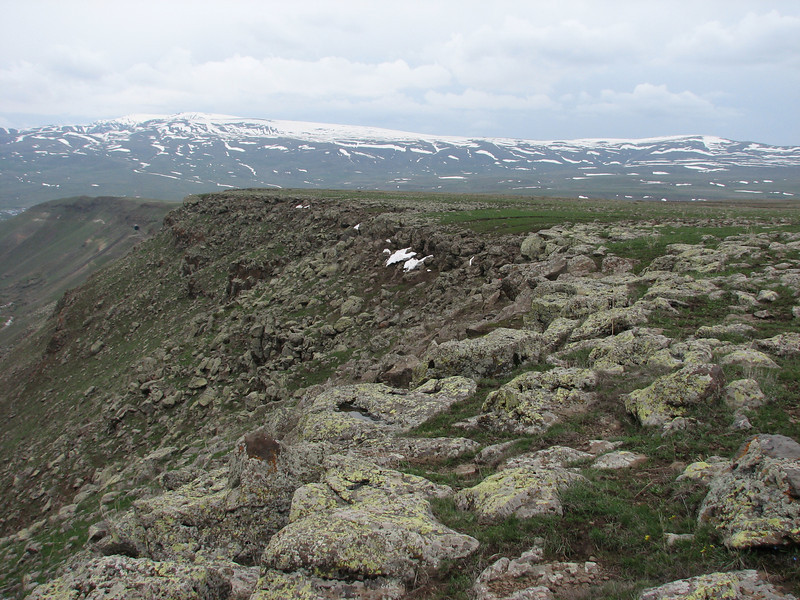 landscape between Kars-Erzurum, Palandoken mountains