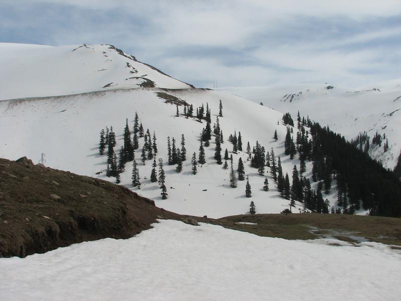 Landscape near Savsat