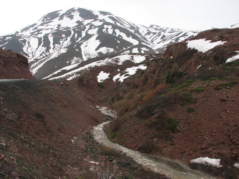 Habitat of Acantholimon ulicinum and A.bracteatum,serpentine gravel, near Erzurum,  Palendoken mountains