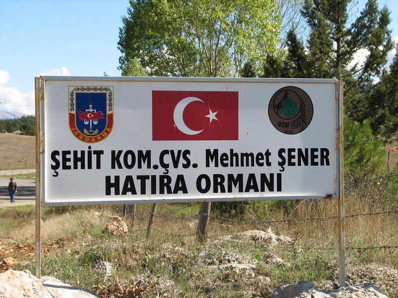 National park Hatira Ormani  (N of Kozan, near Feke, S Turkey)