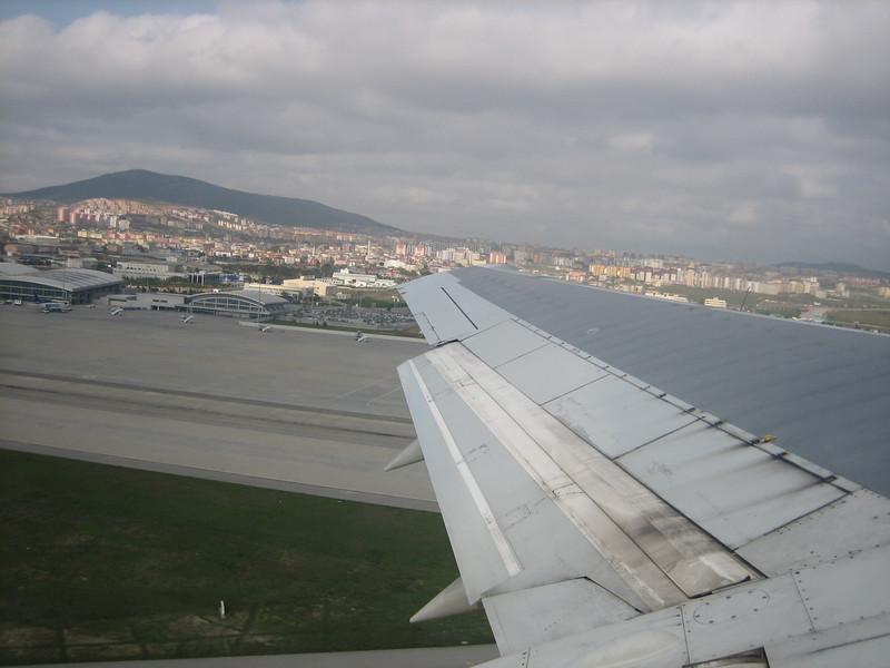 Airial view at Istanbul, flight Dusseldorf, Germany - Istanbul - Adana, Turkey