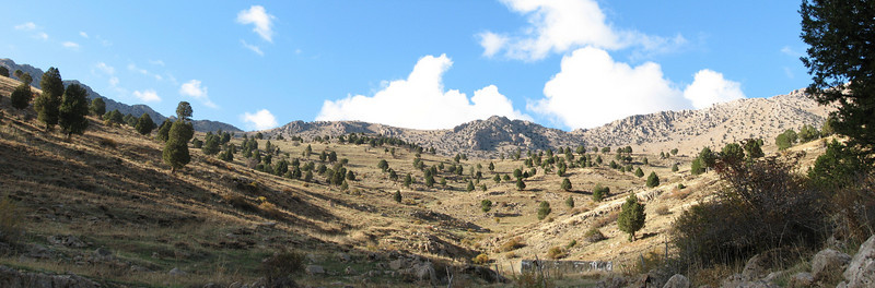 landscape near Feke (West of Saimbeyli, S Turkey)