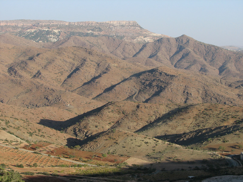 mountains North of Gazi Antep