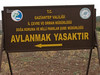 Nat.Park Avlanmak Yasaktir near Musabeyli