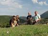 Kees Jan, Sicco, Marijn and Geert at a habitat of Colchicum polyphyllum (near Belen Pass, Nur Dağlari, Hatay, S Turkey)