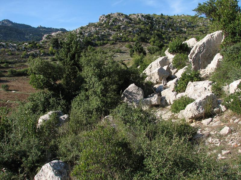 Lime stone mountains of Aladag Gecidi 1050m