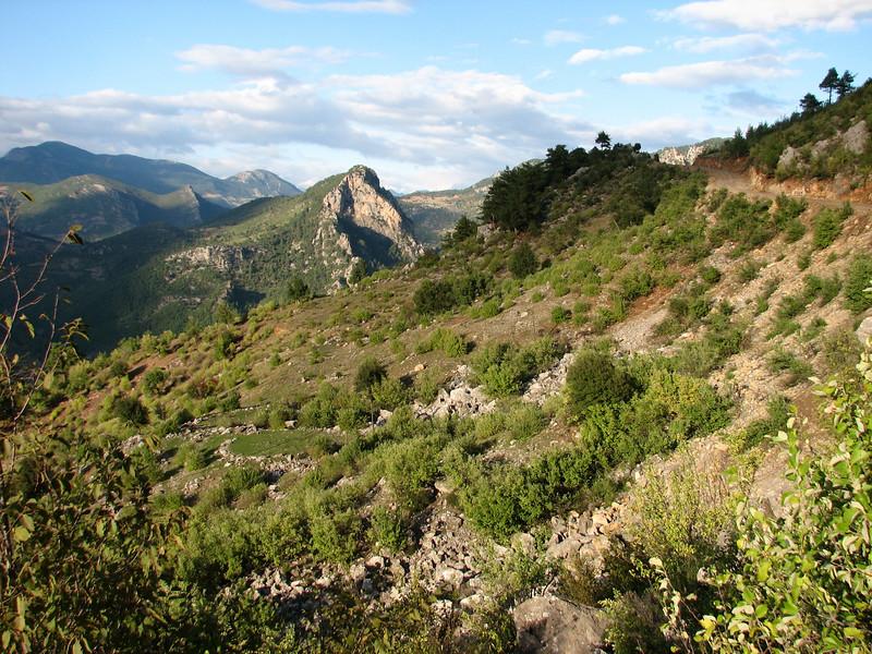 Lime stone mountains, South of Kozan, S. Turkey