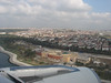 Aerial view at Istanbul. Flight: Dalaman - Istanbul - Dusseldorf, Germany