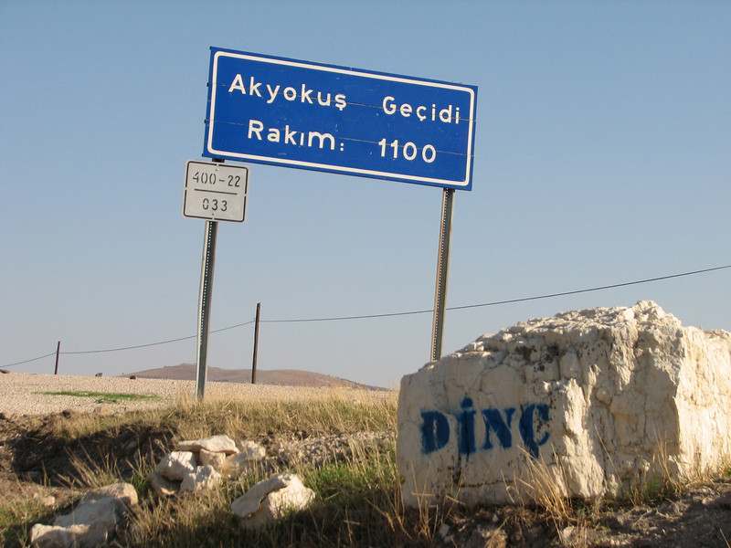 Akyokus Gecidi (pass) 1100m East of Sakcagoze, S. Turkey
