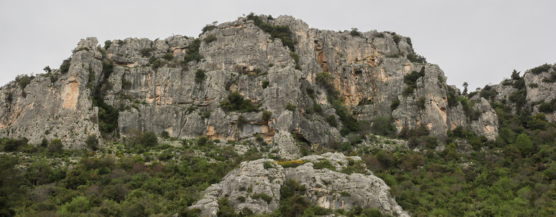 Nesting place of Falco peregrinus