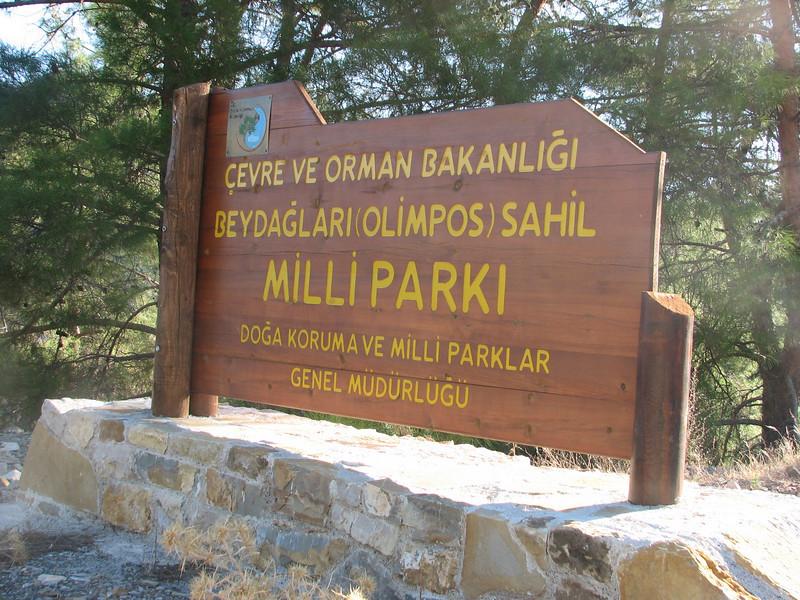 Olimpos National Park (SW Turkey)